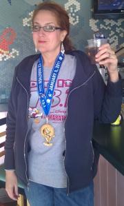 medal at olivias
