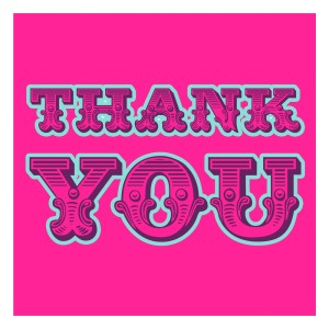 thank_you_greeting_card_hot_pink